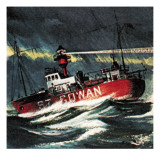 Lightship Giclee Print by  Escott