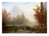 Half Dome, Yosemite Giclée-tryk af Albert Bierstadt