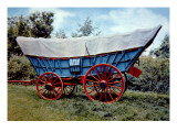 Conestoga Wagon Giclee Print by  American School
