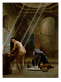 The Moorish Bath Giclee Print by Jean Leon Gerome