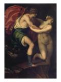 Orpheus and Eurydice Giclee Print by Alessandro Varotari