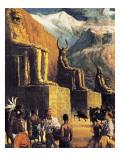 King Solomon's Mines Giclee Print by John Millar Watt
