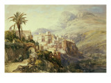 Moroccan Landscape Giclee Print by Jacques Guiaud
