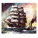 The Cutty Sark Giclee Print by  McConnell