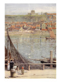 Whitby Giclee Print by Albert Goodwin