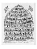 The British Beehive, 1867 Giclee Print by George Cruikshank