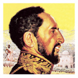 Haile Selassie Giclee Print by  English School