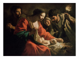 The Nativity Giclee Print by Antoine & Louis Le Nain