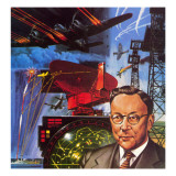 The Story of Radar Giclee Print by Wilf Hardy