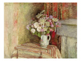 Flowers in a Vase, 1905 Reproduction proc&#233;d&#233; gicl&#233;e par Edouard Vuillard