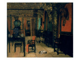 Chinese Interior Giclee Print by Henry Alexander