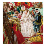 Queen Elizabeth I Giclee Print by C.l. Doughty