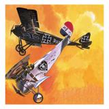 Nieuport 24 Bis Giclee Print by Wilf Hardy