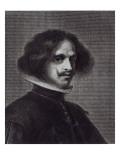 Self Portrait Giclee Print by Diego Rodriguez de Silva y Velazquez