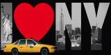 I Love New York Prints by Torag