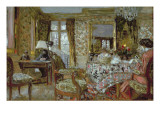 Interior, 1904 Reproduction proc&#233;d&#233; gicl&#233;e par Edouard Vuillard