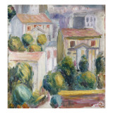 House at Cagnes Giclee Print by Pierre-Auguste Renoir