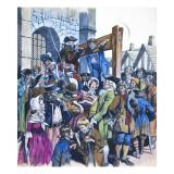 Daniel Defoe Giclee Print by Ron Embleton