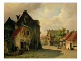 A Dutch Town Giclee Print by Willem Koekkoek