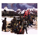 The Russian Revolution Giclee Print by Ron Embleton