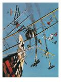 The Sopwith Snipe Giclee Print by Wilf Hardy