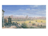 View of Rome, 1665 Giclee Print by Gaspar van Wittel
