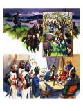 Spies During the Crusades Giclee Print by Eric Parker