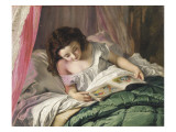 Reading Time Giclee Print by Sophie Anderson