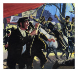 The Peterloo Massacre Giclee Print by  English School