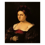 Portrait of a Woman Giclee Print by Bonifacio Veronese
