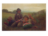 The Watermelon Boys, 1876 Giclee Print by Winslow Homer