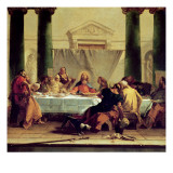The Last Supper, 1745-50 Giclee Print by Giovanni Battista Tiepolo