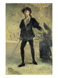 Jean Baptiste Faure Giclee Print by Édouard Manet