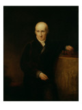 Portrait of Benjamin West Giclee Print by George Henry Harlow