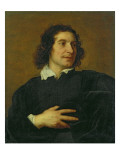 Portrait of a Man Giclee Print by Lucas the Younger Franchoys