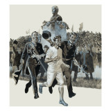 Spiridon Louis Giclee Print by Ron Embleton