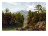 The Lake George, 1876 Giclee Print by David Johnson