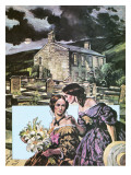 Haworth Parsonage Giclee Print by  Green