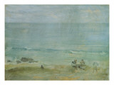 By the Shore, St. Ives Gicl&#233;e-Druck von James Abbott McNeill Whistler