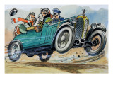 Toad at the Wheel Giclee Print by  Mendoza