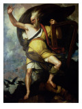 The Bard, 1809 Giclee Print by Benjamin West