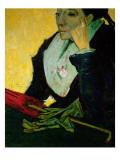 L'Arlesienne, Detail, 1888 Giclee Print by Vincent van Gogh