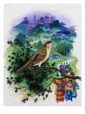 The Nightingale Giclee Print by Andrew Howat