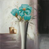 Still Life in Teal II Prints by Andretti 