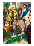 Palm Sunday Premium Giclee Print by Clive Uptton