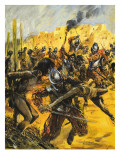 Spanish Conquistadors Giclee Print by Graham Coton