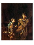 The Fifers, 1881 Reproduction proc&#233;d&#233; gicl&#233;e par Eastman Johnson