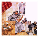 Roger Bacon Giclee Print by  Mcbride