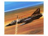 Dassault Mirage Iii-0 Giclee Print by Wilf Hardy