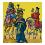The Three Kings Giclee Print by Richard Hook